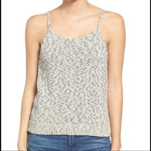Madewell Button Back Sweater Tank